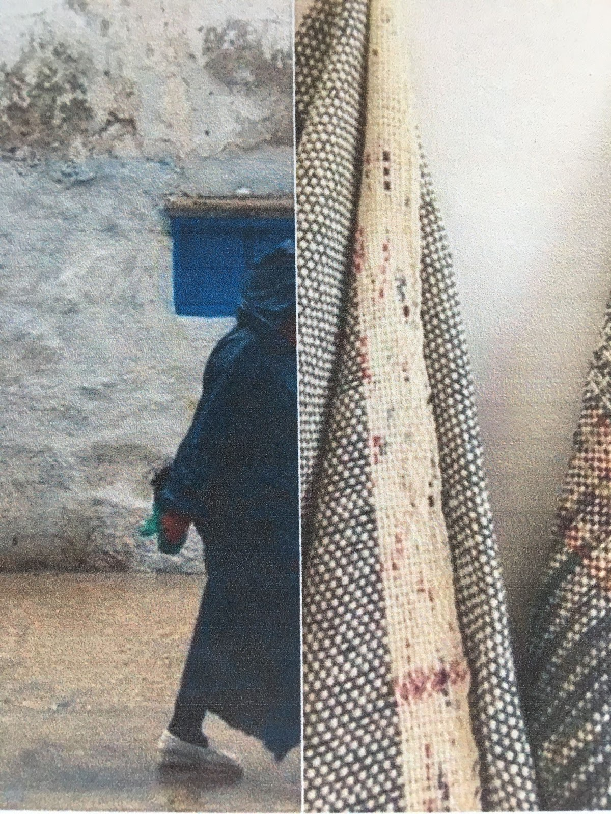 Weave and natural dye workshop in Essaouira, Morocco